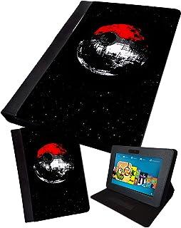 Pokeball Deathstar | Impreso Tablet Plegable Funda sintética
