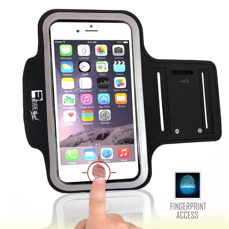 RevereSport Brazalete compatible iPhone 7 / 8 Plus. Armband Deportivo para Teléfono Móvil de Correr, Fitness, Entrenamientos de Gimnasia y Deportes al Aire Libre: Amazon.es: Electrónica