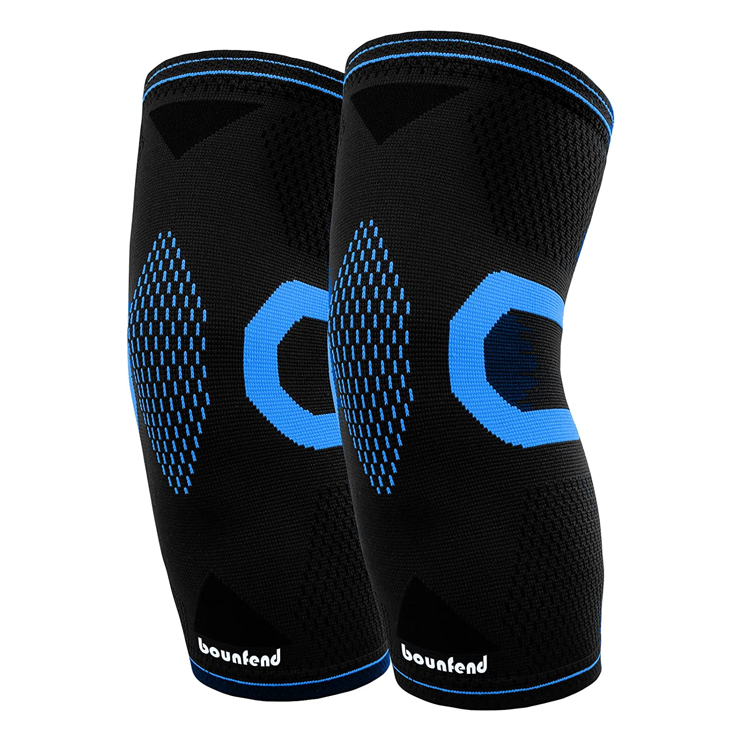 At the price of surprise Bounfend 2 Pack Popular standard Knee Compression Men Sleeve B for Women