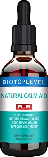 Best Natural Calm Aid Plus Liquid Drops. Natural Relaxation and Good Mental Health. Supports Good Mood. Natural Balance of...
