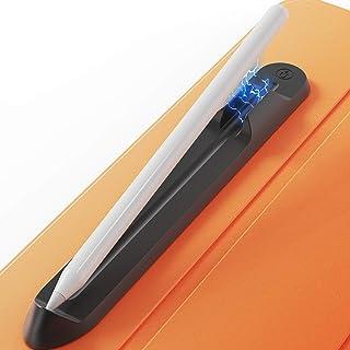AhaStyle 貼り付け式 iPencil ホルダー [磁石付き] Apple Pencil 収納ケース シリコン製 Apple Pencil 2&1 適用 (ブラック)