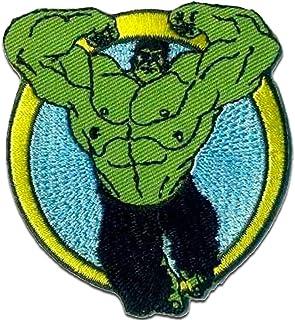 Parches - Avengers Vengadores 'Hulk 1' - verde - 7,2 x 6 cm - by Marvel© termoadhesivos bordados aplique para ropa