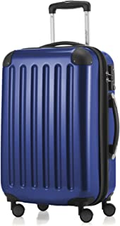 HAUPTSTADTKOFFER - Alex - Carry on luggage Suitcase Hardside Spinner Trolley Expandable 20¡° TSA Darkblue