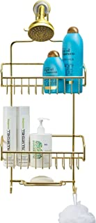 Better Houseware Extra Large Shower Caddy - Gold