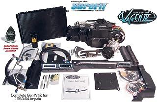 Vintage Air Gen IV SureFit System Kit 1963 Chevy Impala with Factory AC Complete Kit