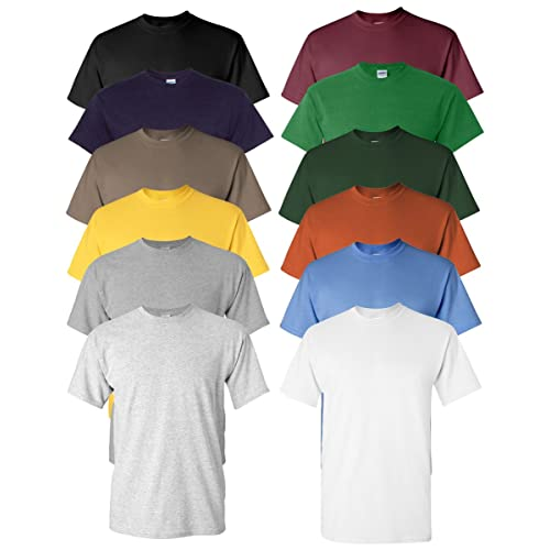 a3887e7e7ed Gildan Men s Heavy Cotton Tee (Pack of 12)