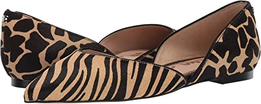 New Nude Safari Zebra Brahma Hair/Large Giraffe Brahma Hair