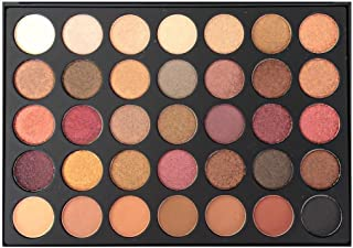 Zelia Milan Pro 35 Color Eyeshadow Makeup Palette Matte Waterproof Vegan (Highly Pigmented) SPICE GIRL 35F