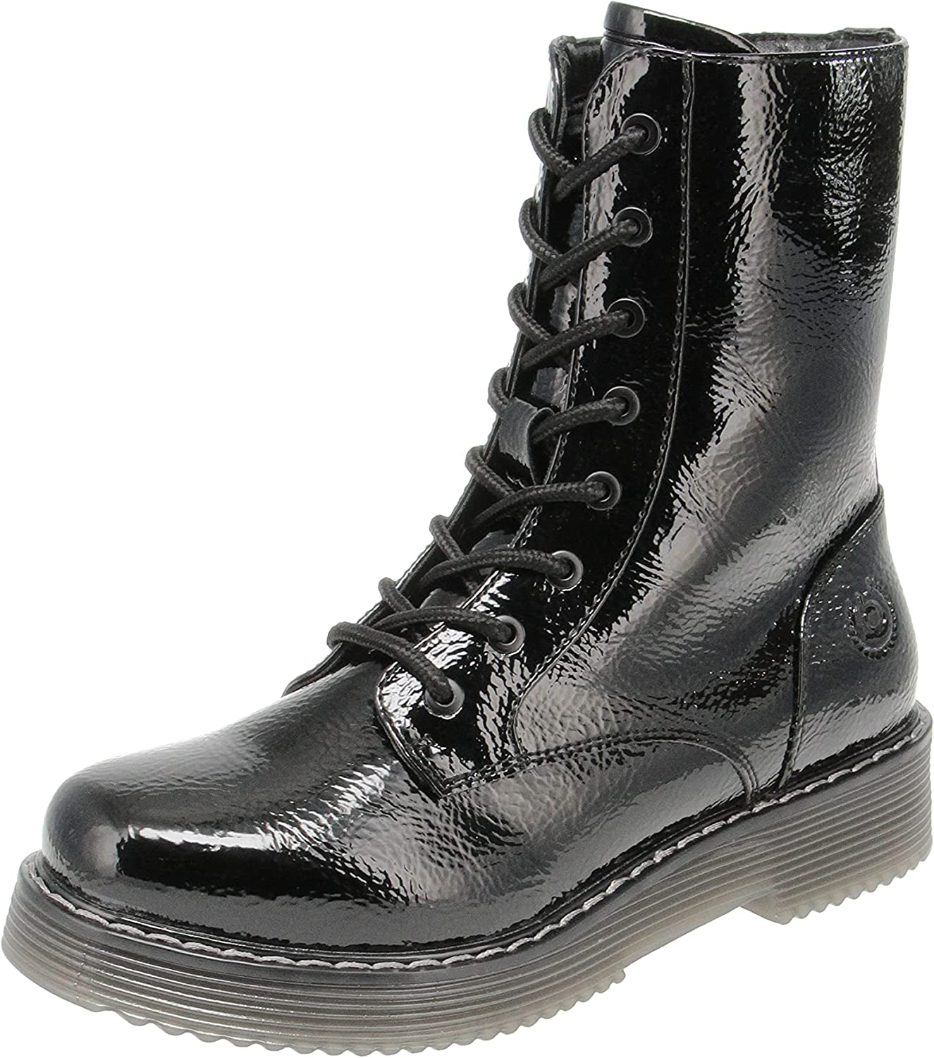 bugatti Women's Combat Military and Tactical Boot