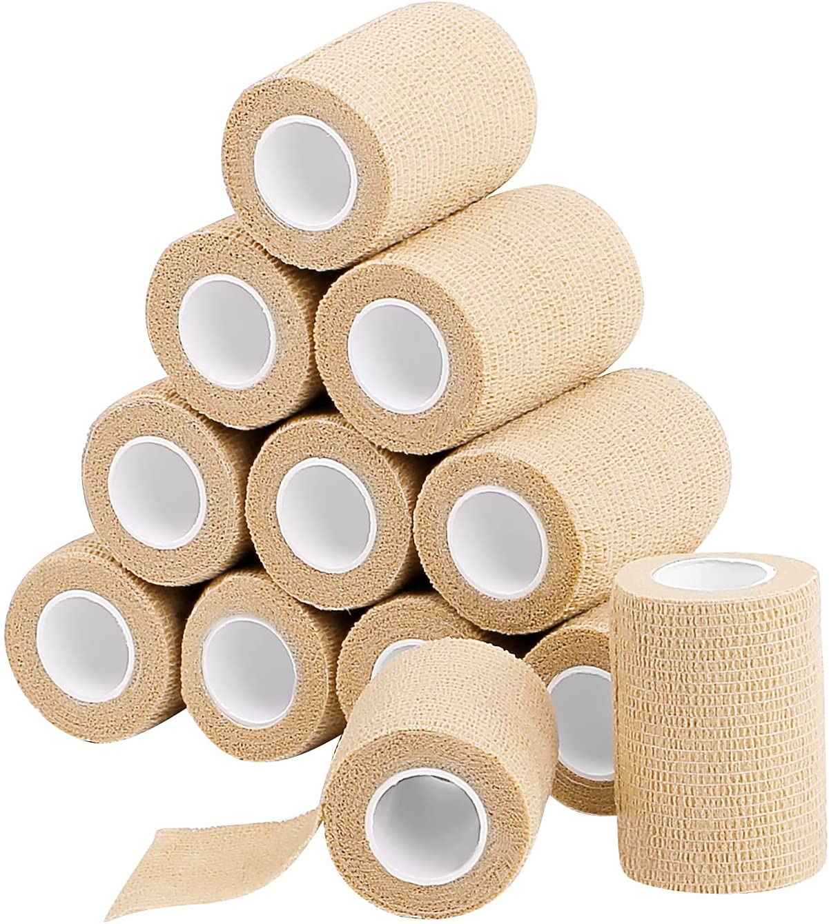12 Pack Today's only Self Adherent Cohesive Wrap Bandages X Yards 3 5 Minneapolis Mall Inches