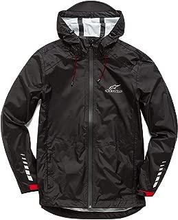 Men's Tech Rain Shell Taped Seams Lightweight Waterproof Jacket