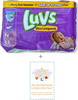 Luvs Newborn Diapers Size Informational
