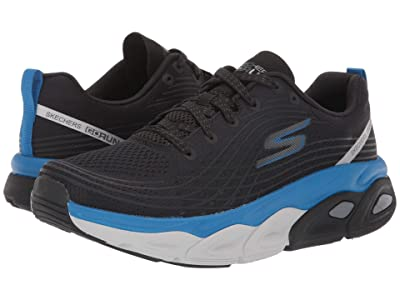 SKECHERS Max Cushion 54440 (Black/Blue) Men