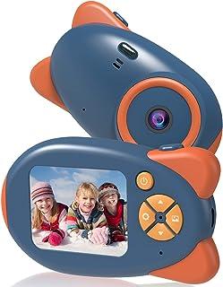 Vannico camera voor kinderen, met 16 GB TF-kaart, oplaadbare digitale camera voor kinderen, 2.0 HD inch-scherm, 24 cartoon...