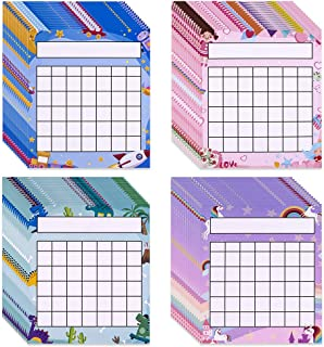 FaCraft Classroom Incentive Chart,60 Pack Incentive Chart Pack with 1840 Star Stickers,Reward Chart for Kids Classroom Tea...