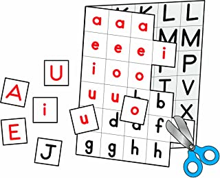 individual letters alphabet