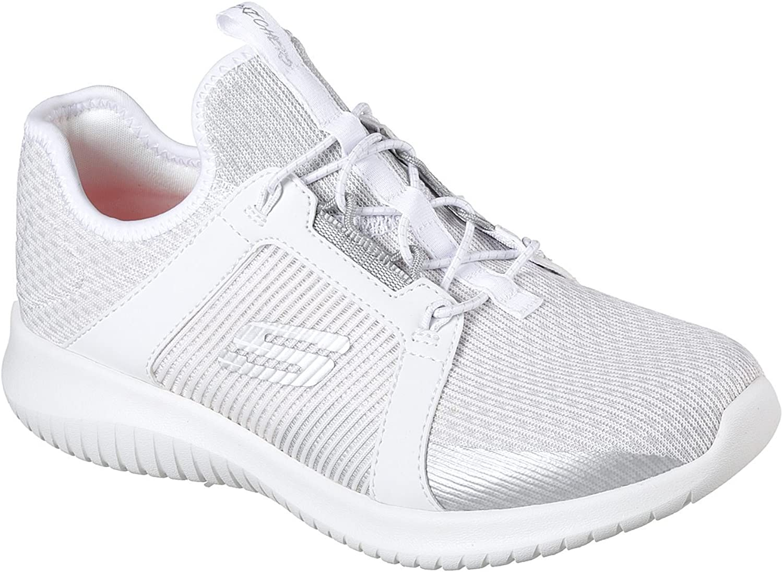 Skechers Ultra Flex Up Close Womens Slip On Sneakers