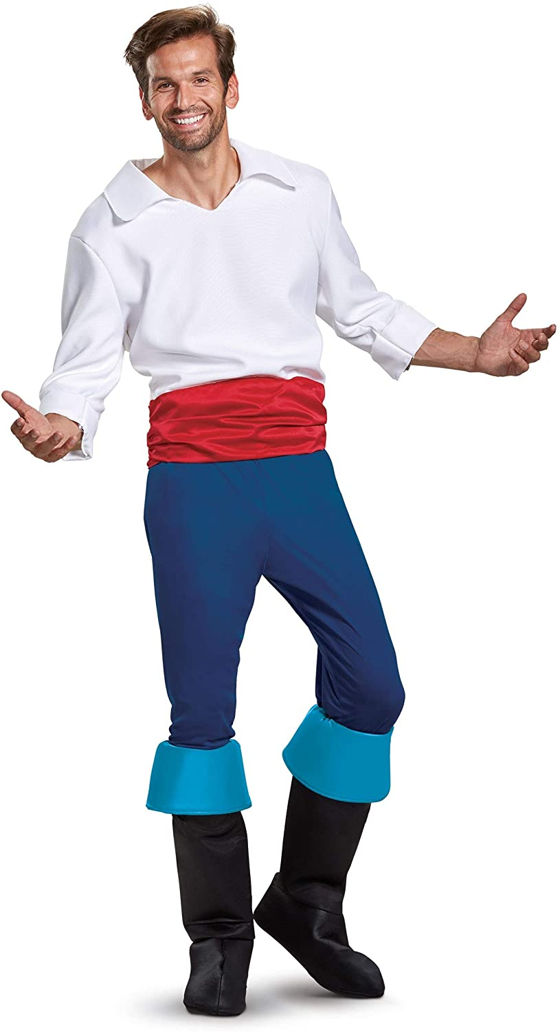 Disguise Prince Eric Mens Deluxe Costume Philadelphia Cheap super special price Mall