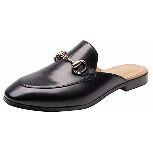 5a5c48505e5 U-lite Women s Horsebit-Detailed Leather Loafer Shoes and Mule Shoes