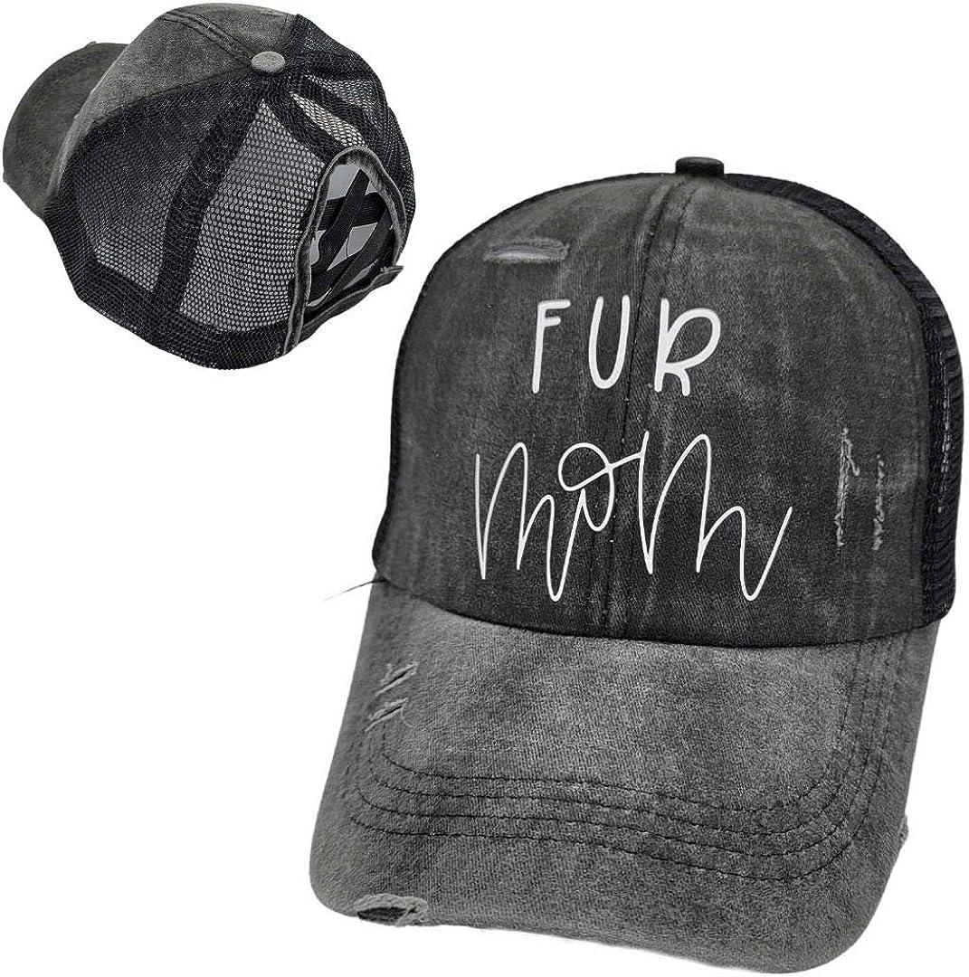 Dog MOM Trucker Hats, CAT MOM Hats, Fur MOM DAD Hats, Rescue MOM Hats, Trucker Hats Dog MOM Ponytail Hats
