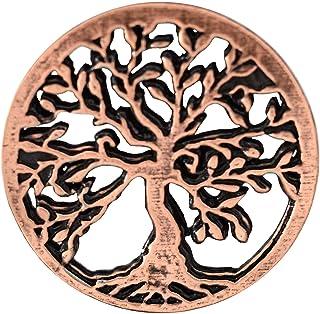 Creative Pewter Designs A1032 - Spilla a forma di albero della vita, in peltro