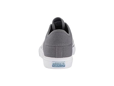 4 Calzado Grey 4 Blanco Skateboarding Goma Adidas Matchcourt wxOtzn