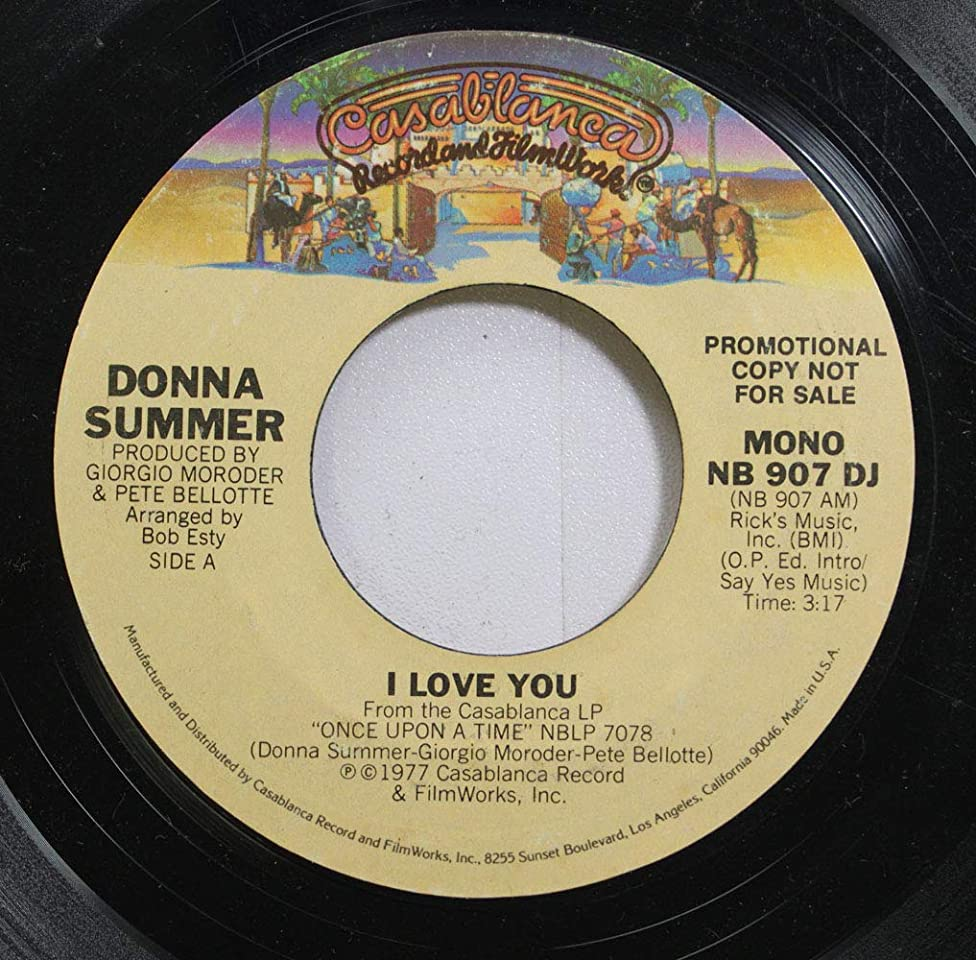Donna Summer: Love To Love You Baby (Original Oasis Release - NOT The Casablanca Reissue) [VINYL LP] [STEREO]