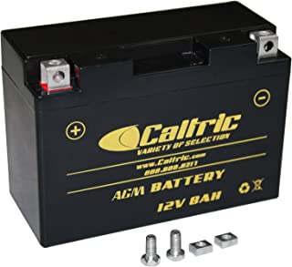 Caltric Agm Agm Battery for Yamaha Raptor 700 Yfm700R Yfm-700R 2006-2016