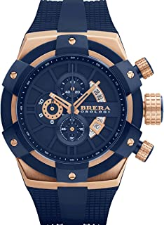 Brera Orologi: Supersportivo in Rose Gold IP and Navy