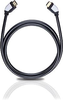 Oehlbach Shape Magic HDMI Kabel   High Speed HDMI 2.0b mit Ethernet Kanal   Übertragung von UltraHD, 4K, 3D, HDR mit 18 Gbits   schwarz 3,20 Meter