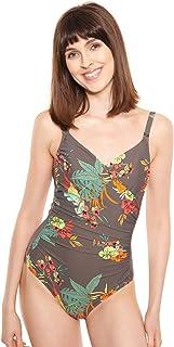 Rösch Beach 1215500-11759 Women's Hot Hibiscus Floral Swimsuit