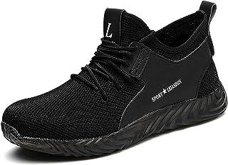 CHNHIRA Chaussures de Securité Homme Femmes Embout Acier Protection Léger Chaussures de Travail