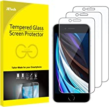 JETech Screen Protector for Apple iPhone SE 2020, 4.7-Inch, Tempered Glass Film, 3-Pack