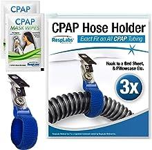 RespLabs CPAP Hose Holder, Hanger - The Original CPAP Hose Holder & Tube Clips, 3 Pack