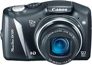 Canon PowerShot SX130IS 12.1 MP Digital Camera with 12x Wide Angle Optical Image Stabilized Zoom with 3.0-Inch LCD (OLD MO...