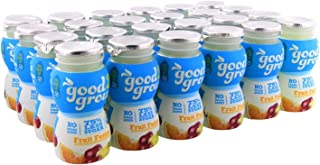 good2grow Fruit Fusion Juice Bottles, 6-Ounce Good2grow Refills, 24 Pack - USDA Certified Organic Juice with 75% Less Sugar, non-GMO, BPA-Free - Use with Spill-Proof Good2grow Toppers