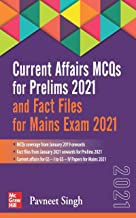 Current Affairs MCQs for Prelims 2021 and Fact Files for Main Exam 2021 | Third Edition