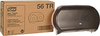 Tork 56TR Twin Jumbo Bath Tissue Roll Dispenser, 9