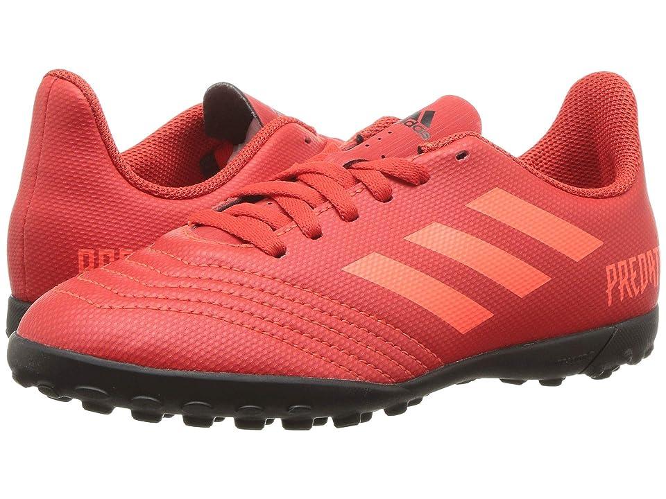adidas Kids Predator 19.4 TF Soccer (Little Kid/Big Kid) (Active Red/Solar Red/Black) Kids Shoes