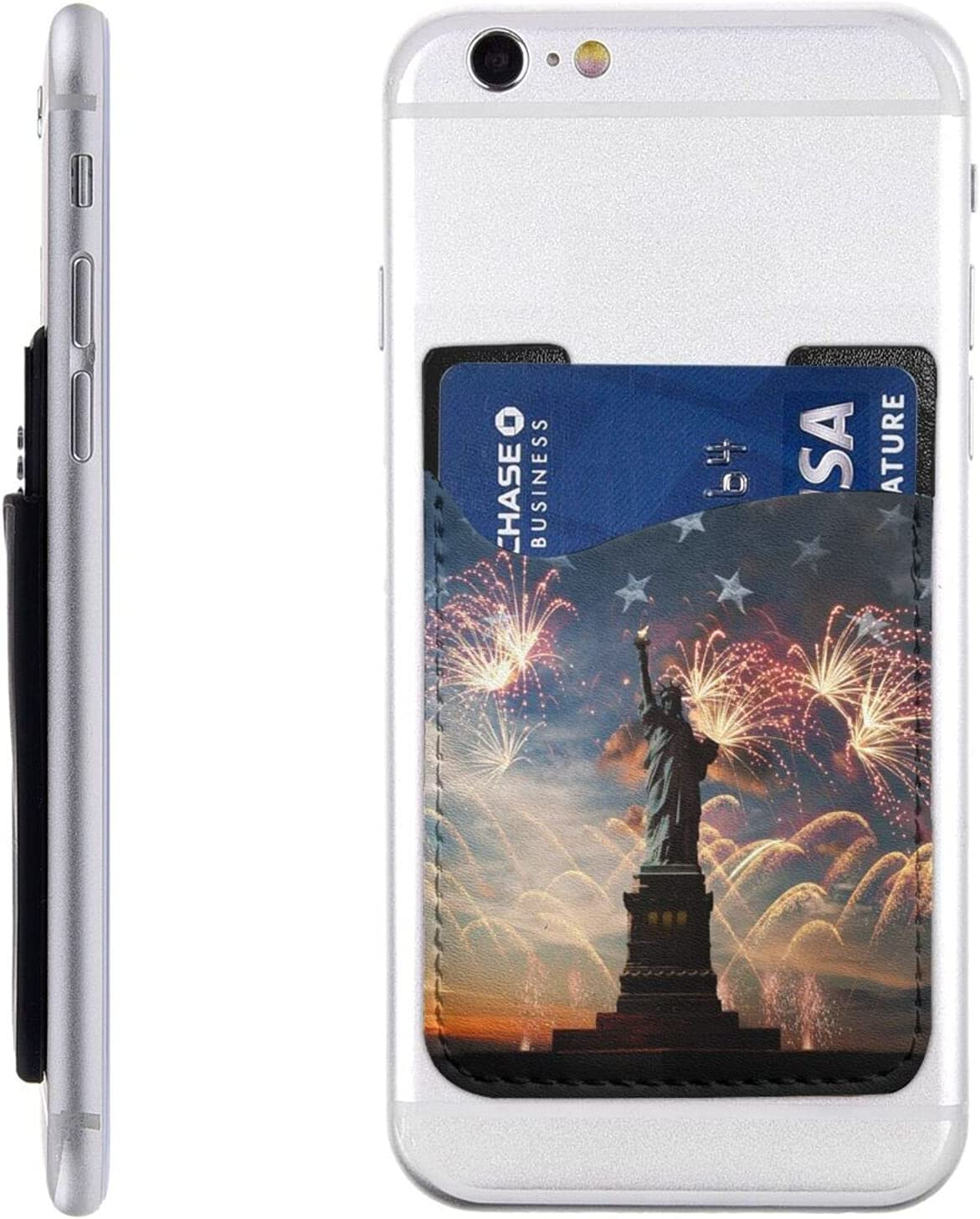 Statue of Liberty Phone Card Max 44% OFF Holder Wal On Max 75% OFF Stick Cell