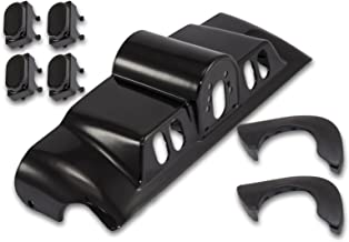Bagger Brothers BB-HD1584-059B Vivid Black Inner Fairing with Switch Cap Kit for 1996-2013 Harley - Davidson FLH Touring Models
