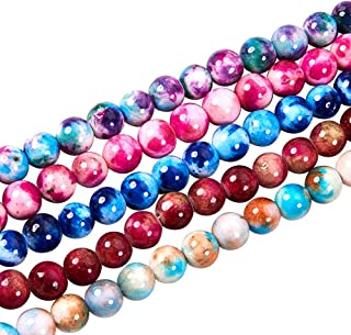 Jade 6mm Perlas Natural Malasia Blanco 1 Strand Aprox 64 piezas