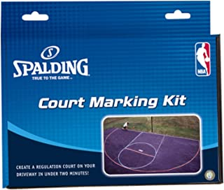 residential outdoor basketball court