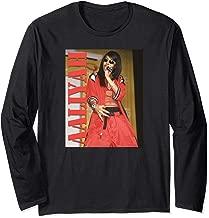 Aaliyah Stencil Logo Long Sleeve T-Shirt