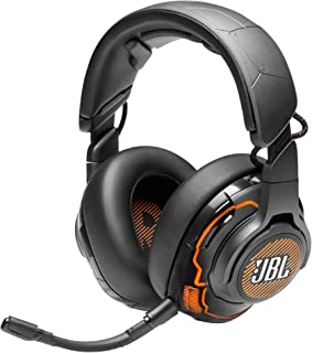 JBL Quantum ONE by Harman USB Wired Over-Ear Professional Gaming Headset with Head-Tracking Enhanced JBL Quantum Sphere 36...