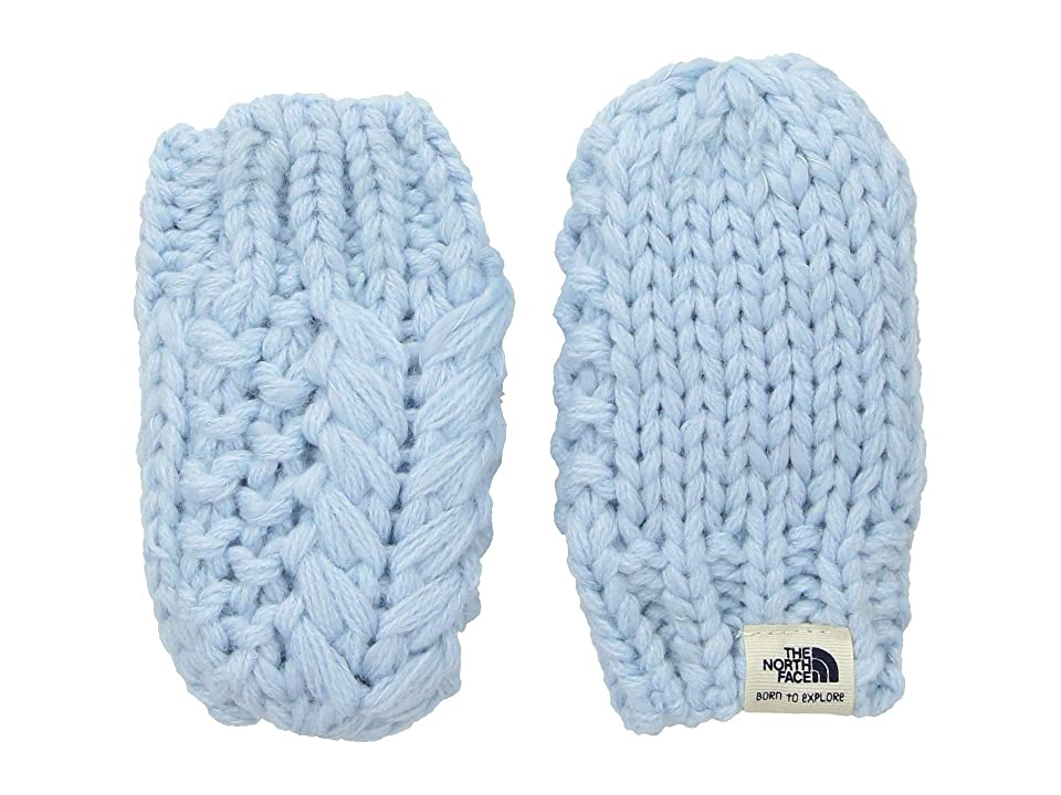 The North Face Kids Baby Minna Mitt (Infant) (Pale Blue) Extreme Cold Weather Gloves