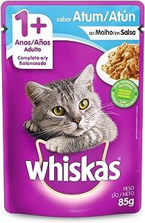 Ração Úmida Para Gatos Whiskas Sachê Atum ao Molho Adultos 85g