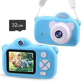 VACPOWER Kids Camera, Upgraded 1080P HD Toddler Camera for Kids, Kids Camera for Boys of 3 4 5 6 7 8 9 10 Year Old Age, Ki...