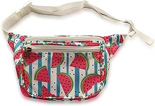 Watermelon Summer Fun Fanny Pack - Multiple Sizes Waist Pack Bum Bag Fanny Packs Crossbody Bag Hip Pack Belt Bag Cute Fanny Pack