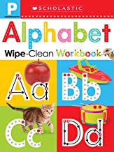 Alphabet Pre-K Wipe-Clean Workbook: Scholastic Early Learners (Wipe-Clean Workbook)